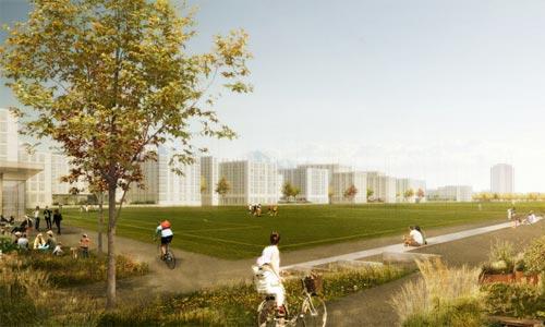 Städtebaulicher Wettbewerb Arealentwicklung Viererfeld / Mittelfeld, Bern